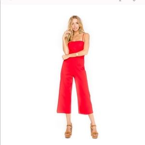 ASTR red jumpsuit